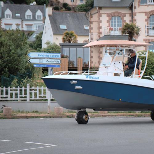 Tringaboat Tringa | les photos officielles du premier bateau amphibie homologué route