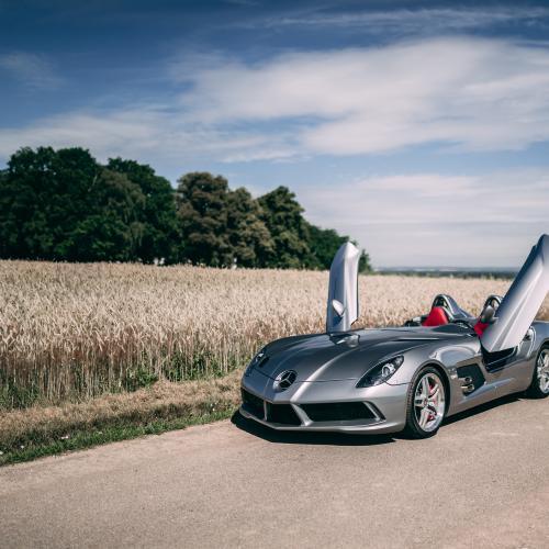 Mercedes-Benz SLR Stirling Moss | Les photos du speedster hommage de 2009