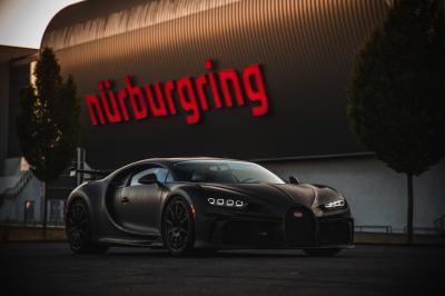 Bugatti Chiron Pur Sport | les photos officielles de l'hypersportive sur le Nürburgring