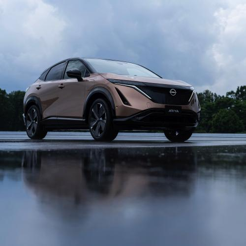 Nissan Ariya (2021) | Les photos officielles du SUV coupé nippon