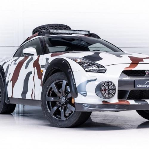 Godzilla 2.0 On Wheels | Les photos de la Nissan GT-R Offroad