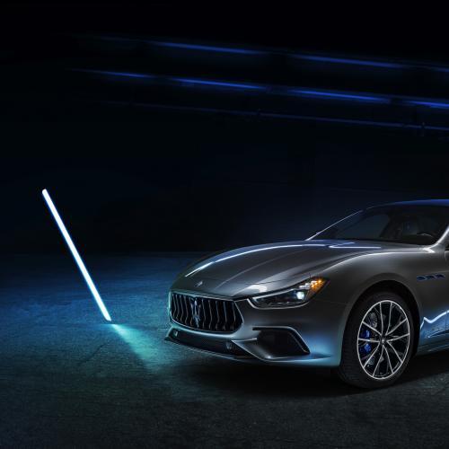 Maserati Ghibli hybride   Les photos de la berline sportive italienne électrifiée