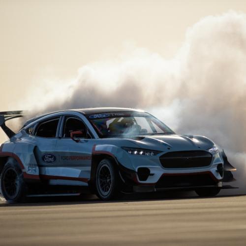 Ford Mustang Mach-E 1400 | Les photos du prototype 100% électrique surpuissant