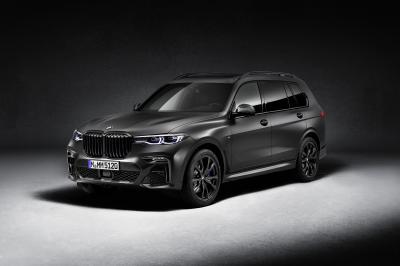 BMW X7 Dark Shadow Edition | Les photos du grand SUV en série limitée