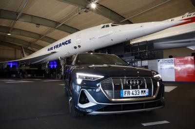Audi e-tron Sportback | Toutes les photos de notre essai du SUV coupé électrique aux anneaux