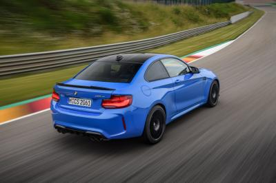 Nouvelle BMW M2 CS : le plei nde photos dynamiques
