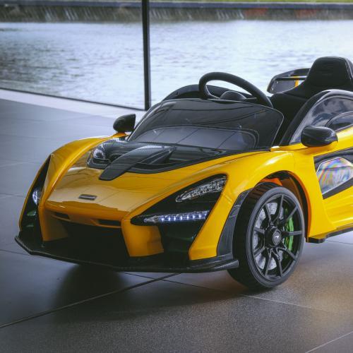 """McLaren Senna """"Ride On""""   les photos officielles de la supercar des 3 - 6 ans"""