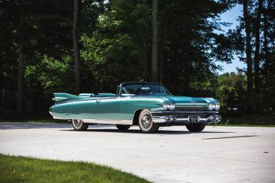 Cadillac Eldorado Biarritz | Les photos du cabriolet de luxe millésime 1959