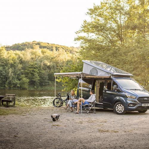 Ford Transit Custom Nugget Plus | Les photos officielles de la version longue du camping-car