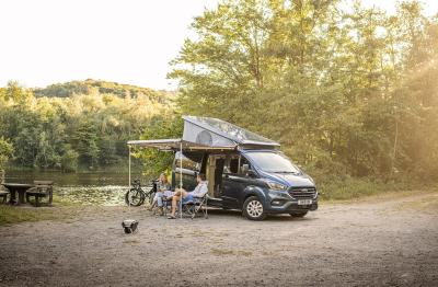Ford Transit Custom Nugget Plus | Les photos officielles de la version longue du camping-car