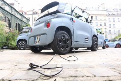 Citroën Ami 100 % ëlectric | Toutes les photos de notre essai de la voiture sans permis aux chevrons
