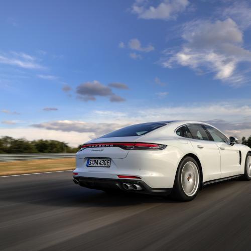 Porsche Panamera 4S E-Hybrid (2021) | Les photos de la berline hybride rechargeable