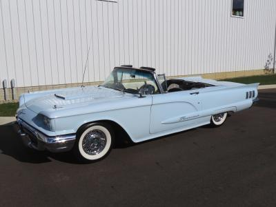 Ford Thunderbird II ou Square Bird (1958-1960) | Les photos de la belle américaine