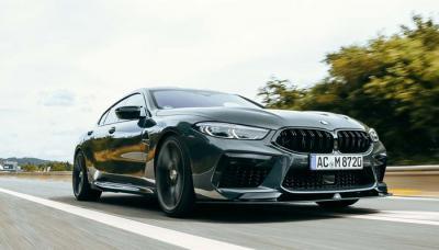 BMW M8 (F93) | Les photos de la berline coupé équipée par AC Schnitzer