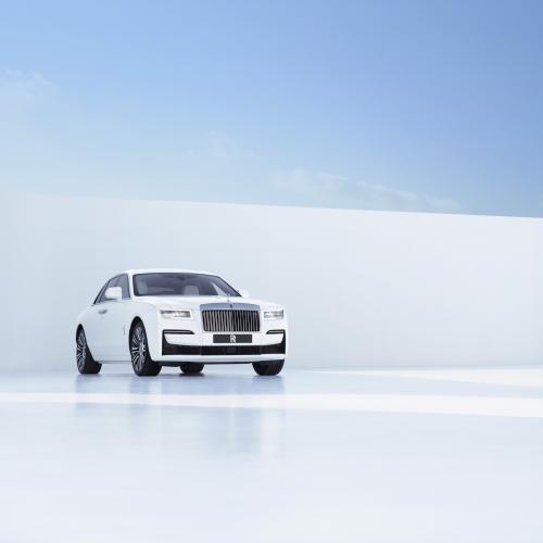 Rolls-Royce Ghost (2021)   Les photos de la nouvelle berline de grand luxe