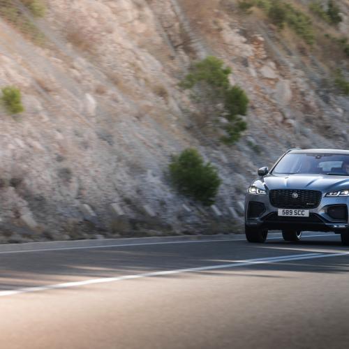Jaguar F-Pace (2021)   Les photos du SUV restylé