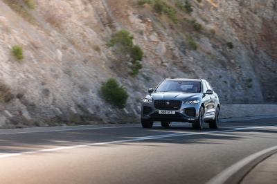 Jaguar F-Pace (2021) | Les photos du SUV restylé