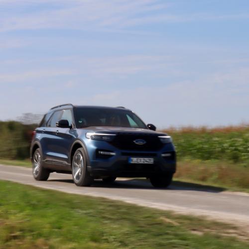 Ford Explorer | Les photos de notre essai du grand SUV américain hybride rechargeable