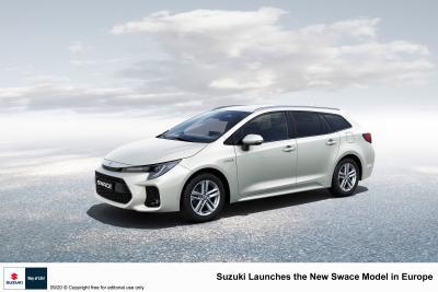 Suzuki Swace (2021) | Les photos du clone de Toyota Corolla Touring Sports
