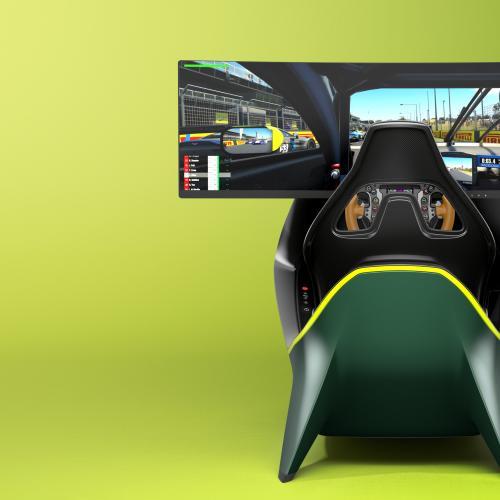 Aston Martin AMR-C01   Les photos officielles du luxueux simulateur de conduite