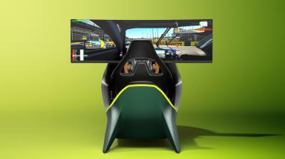 Aston Martin AMR-C01 | Les photos officielles du luxueux simulateur de conduite
