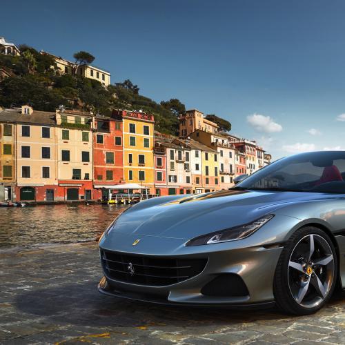 Ferrari Portofino M (2021) | les photos officielles du coupé-cabriolet restylé