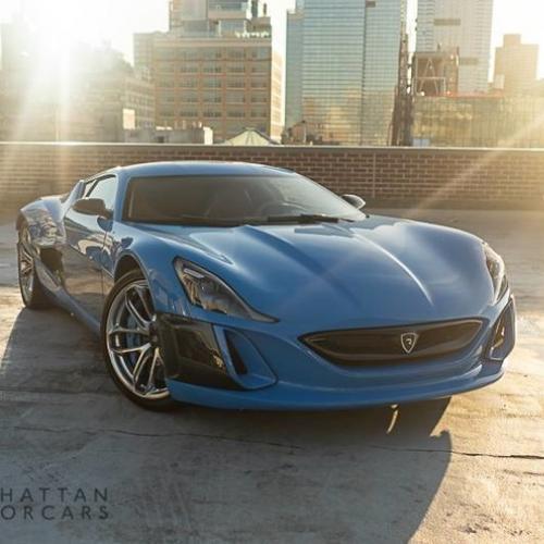 Rimac Concept_One | Les photos de l'exemplaire en vente chez Manhattan Motorcars