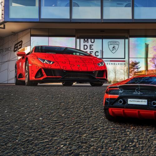 Lamborghini Huracan Evo | Les photos du puzzle 3D par Ravensburger
