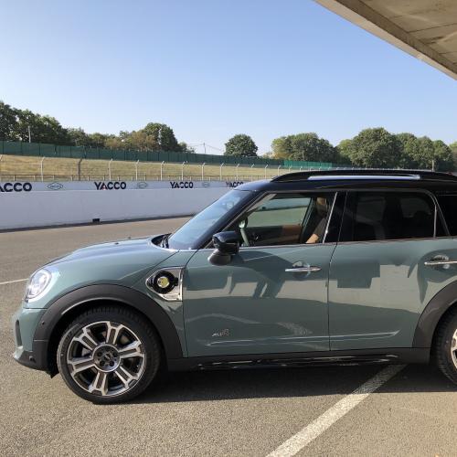 Mini Cooper SE Countryman   nos photos de l'essai de la version hybride rechargeable