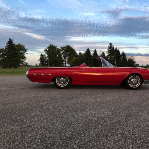Ford Thunderbird Sports Roadster | Les photos du cabriolet deux places de 1962