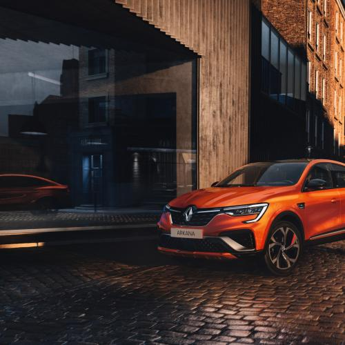 Renault Arkana (2021) | Les photos officielles du SUV coupé