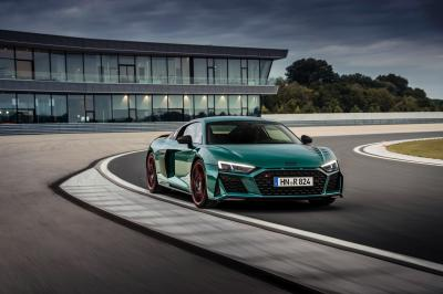 Audi R8 green hell | Les photos de la sportive en édition limitée