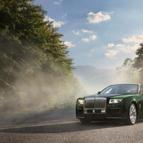 Rolls-Royce Ghost Extended | Les photos de la limousine allongée