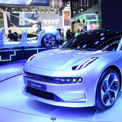 Lynk&Co Zero Concept | les photos au Beijing Motor Show 2020