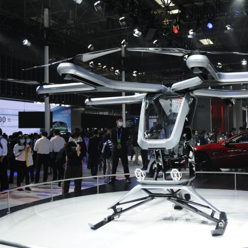 Xpeng Kiwigogo | les photos du concept de drone touristique au Beijing Motor Show
