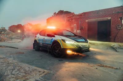 Nissan RE-Leaf | Les photos de la voiture électrique d'intervention