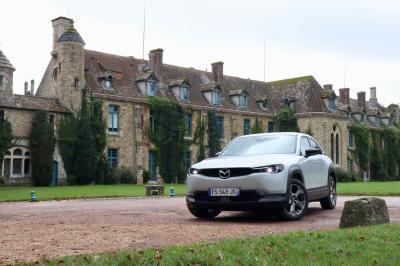 Mazda MX-30 | Nos photos de l'essai du premier SUV coupé électrique signé Mazda