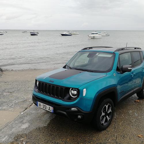 Essai Jeep Renegade 4xe | nos photos du 4x4 hybride rechargeable