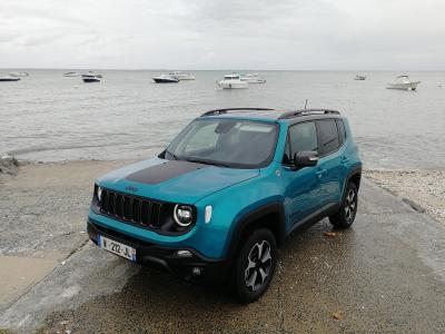 Essai Jeep Renegade 4xe | nos photos du 4x4 hybride rechargeable
