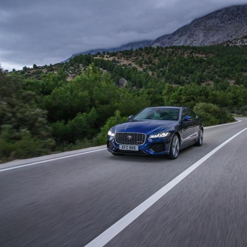 Jaguar XF (2021) | Les photos de la berline familiale restylée