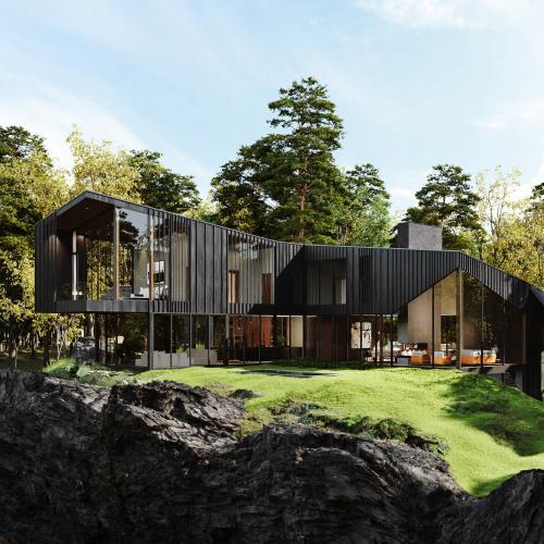 Sylvan Rock   les photos officielles de la résidence privée Aston Martin à 7 millions d'euros