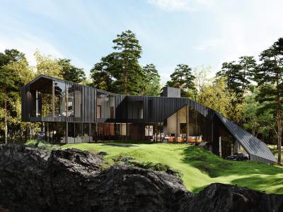 Sylvan Rock | les photos officielles de la résidence privée Aston Martin à 7 millions d'euros