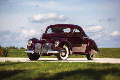 Lincoln Zephyr Coupe | Les photos du coupé deux portes de 1939
