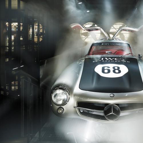 IWC Racing Works | les photos officielles de la boutique qui mêle horlogerie et sport auto