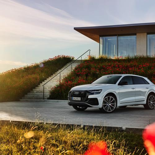 Audi Q8 TFSI e quattro   Les photos officielles du SUV coupé hybride rechargeable
