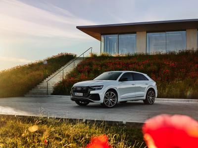 Audi Q8 TFSI e quattro | Les photos officielles du SUV coupé hybride rechargeable