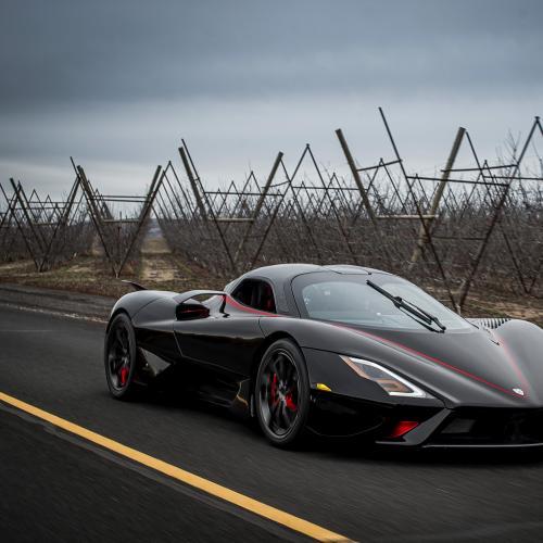 SSC Tuatara | les photos officielles de la voiture la plus rapide du monde