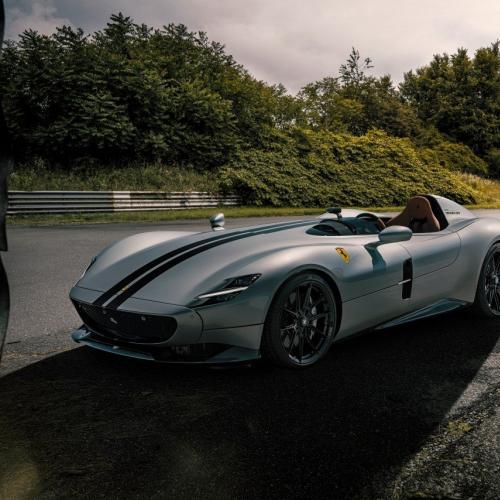 Ferrari Monza SP1 by Novitec | Les photos de la barchetta ultra-exclusive préparée