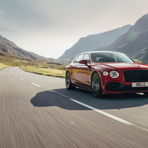 Bentley Flying Spur (2021) | Les photos officielles de la limousine à moteur V8