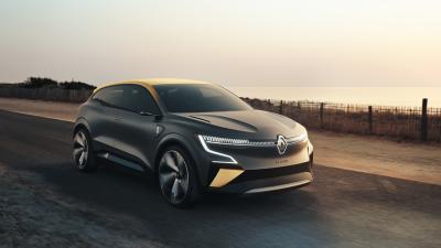 Renault Mégane eVision | Les photos du concept-car 100% électrique